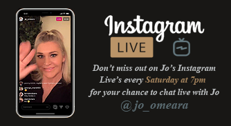 Instagram Live's every Saturday 7pm